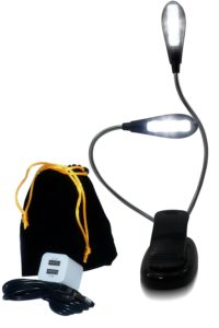 Personal Lamp for Reading in Bed & Music Stand Light