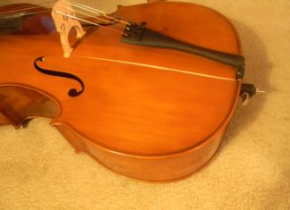 crack in cello