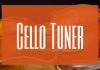 Cello tuner