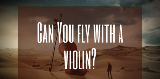 Can i fly with a violin