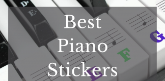Best Piano Stickers